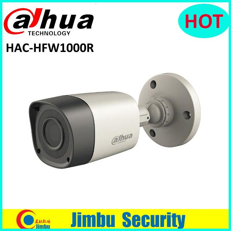 Dahua 1MP HDCVI camera HAC-HFW1000R Water-proof IP67 IR-Bullet 30m mini Camera Lens 3.6mm long distance real-time transmission