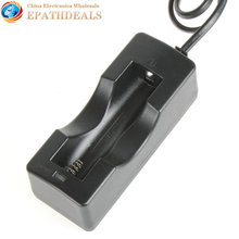 Smart and Practical 1 x 18650 Li-ion Intelligent Battery Charger