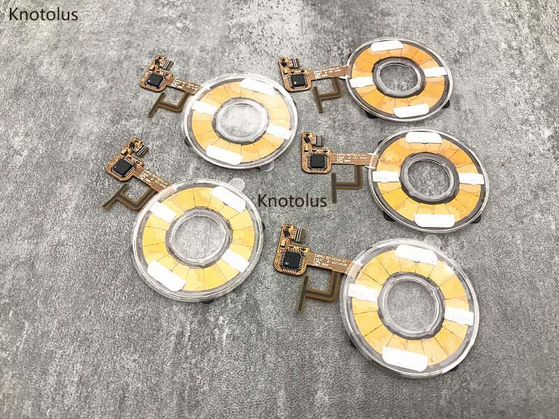 5 Pz/lotto Di Colore Trasparente Nuovo Clickwheel Click Wheel Flex Cavo A Nastro Per Ipod 5th Gen Video 30 Gb 60 Gb 80 Gb