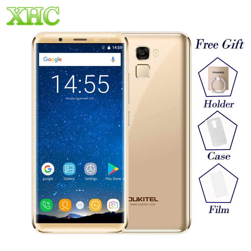 5,7 ''OUKITEL K5000 Smartphone 21MP 16MP Kamera Android 7.0 MTK6750T Octa Core RAM 4 GB ROM 64 GB 5000 mAh Dual SIM 4G Handy