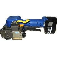 Z323 Портативный Электрический автоматической pet/pp пояс связывая машину связывая Инструменты для 16 19 мм ПЭТ и ПП ремень