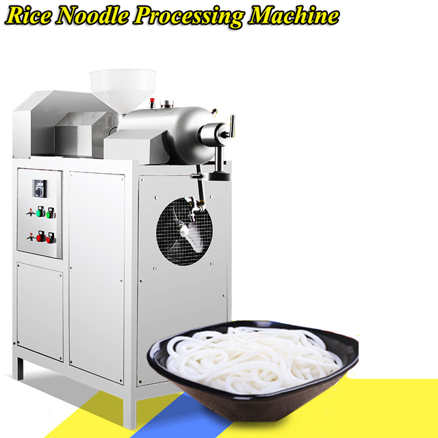 Automatic Noodle Machine 220V/380V Stainless Steel Commercial Rice Noodle Machine Electric Small Food Machinery Equipment SZ-60