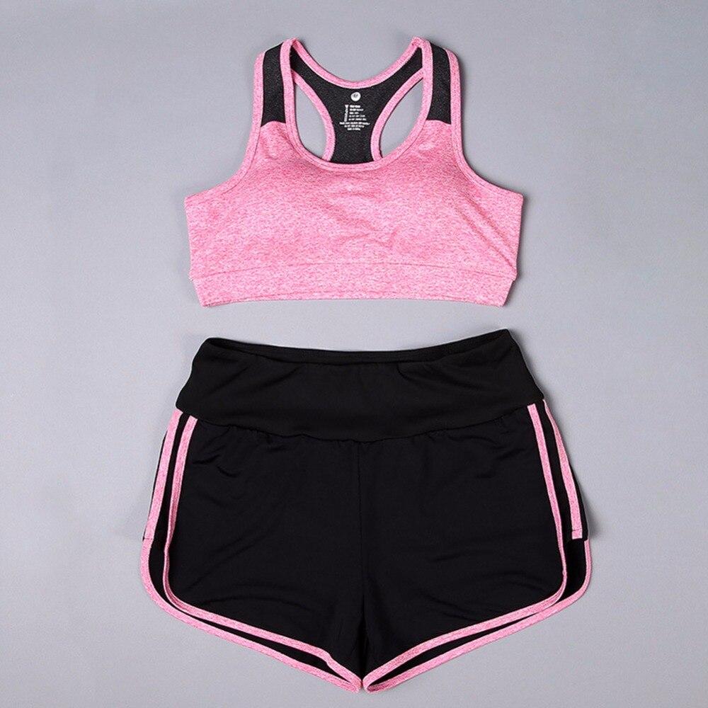 Womens Sports Bras Running Yoga Pants Dance Gym Tank Tops