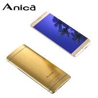 Anica marcas A7 Mini Cell Phones, 1.54 Bluetooth Dialing Cellphone, Anti Lost Dual SIM ultral thin Card Phone Celular for Girls
