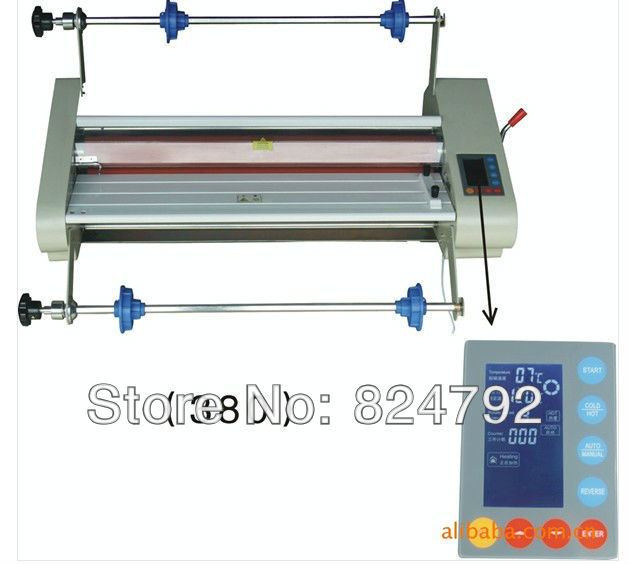 "18"" Roll cold and hot laminating machine one"