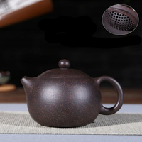 1 PC Purple sand kettle Yixing ore purple clay teapot 210 ml of old beauty manufacturers direct 188 ball hole Xishi teapot