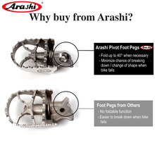 Arashi Voor Bmw R1200GS/Gsa 2005   2012 Front Voetsteunen Breed Pivot Rider Voetsteun Anti Slip Pedaal GS1200 2006 2007 2008 2009