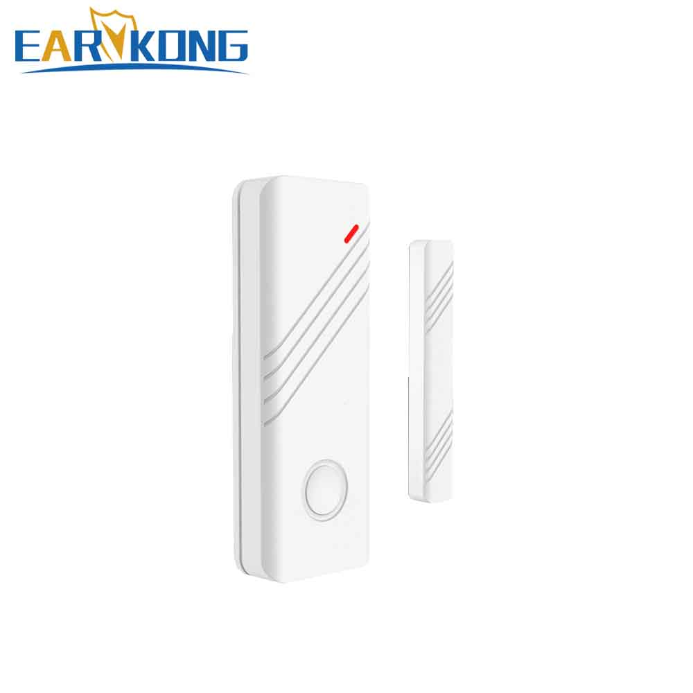 433MHz Wireless Door Window Open Detector Door Sensor Alarm For Our Wifi GPRS APP RFID GSM Home Burglar Alarm System цены