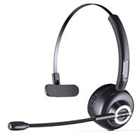 M97 Mono Bluetooth Call Center Headset Wireless Truck Driver Office Headphones Telephone Handsfree with Mic Call Headphone Skype