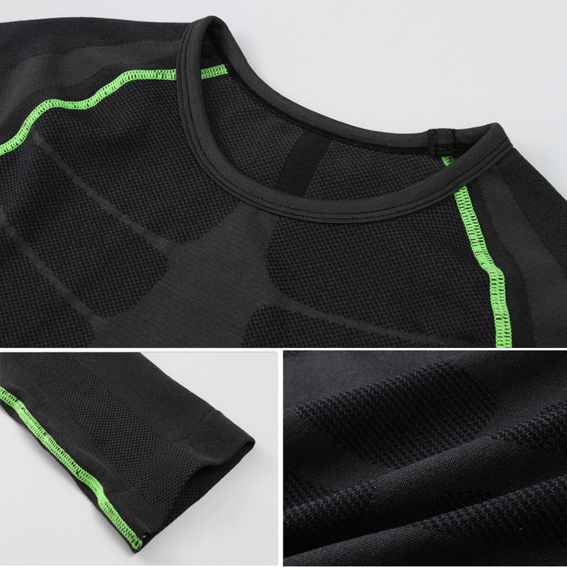Manga larga Camisas y Pantalones Medias para hombres muscle