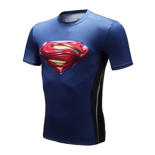 Marvel Comic Superhero 3D Shirt superman