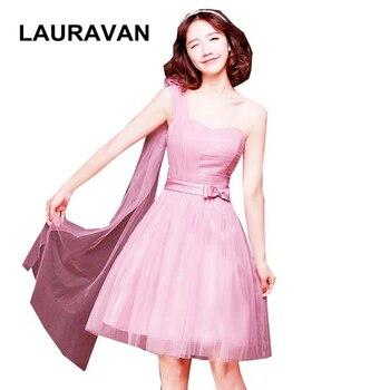 a35648147 Nuevo 2018 Mini Lace Homecoming vestidos de novia Appliques té longitud  Tulle Homecoming Cocktail graduación vestidos de fiesta
