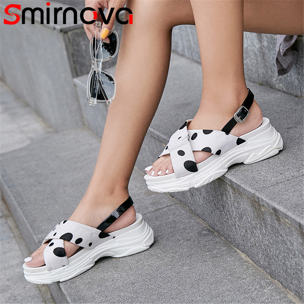 Smirnova white yellow fashion summer new shoes woman buckle flat platform sandals women horsehair casual comfortable mixed color women s shoes 2017 summer new fashion footwear women s air network flat shoes breathable comfortable casual shoes jdt103