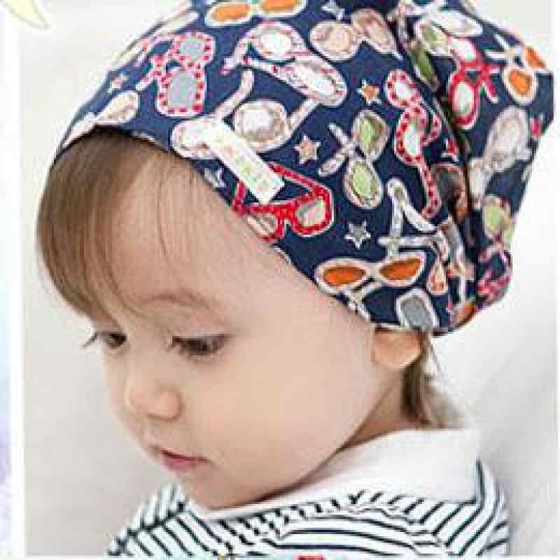5212c59b0 Szyadeou Summer Autumn Baby Girl Boy Cap Children Hats Elastic Cute Toddler  Kids Scarf Beanie Outdoors Sun Hat 0-3years Old F1