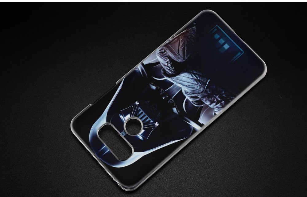 Binyeae Дарт Вейдер Star Wars очистить жесткий чехол для LG Q6 G6 мини G5 SE G4 G3 V10 V20 v30