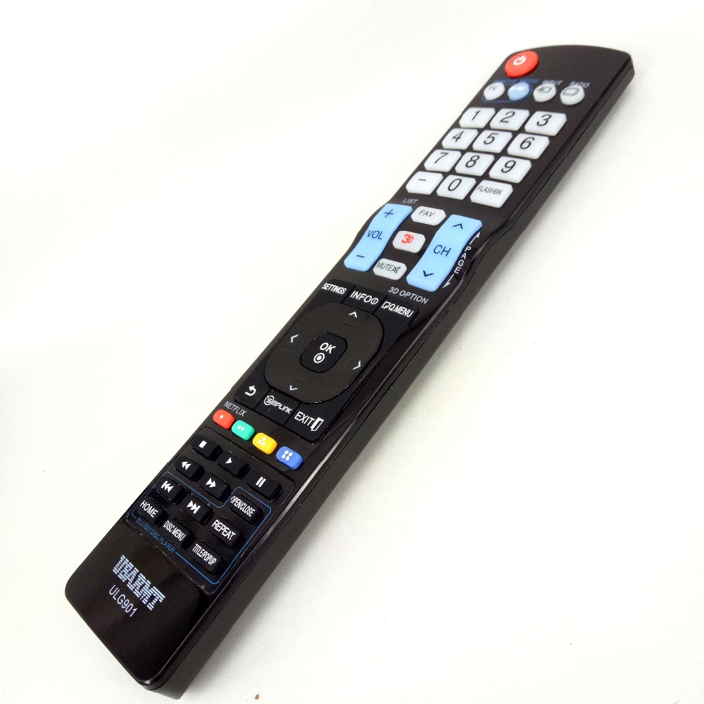 NEW FOR LG ULG901 TV Blu-ray DVD player Universal Remote FOR AKB72914201 72915252 AKB72914240 by USARMT NO programming Needed