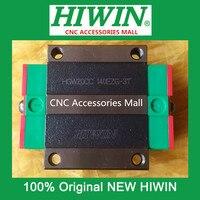 6pcs Original HIWIN linear guide flange bearing slider block HGW20CC Carriage for HGR20 linear guide rail