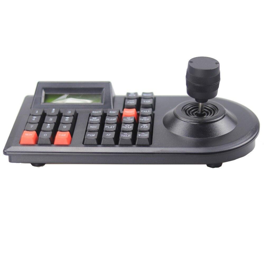 Image 2 - GZGMET 64 zestaw CCTV analogowa kamera sieciowa uchwyt Joystick DVR PTZ 3D RS485 prędkość kopuła pelco d/P kontroler kamery klawiaturakeyboard keyboardptz rs485keyboard controller -