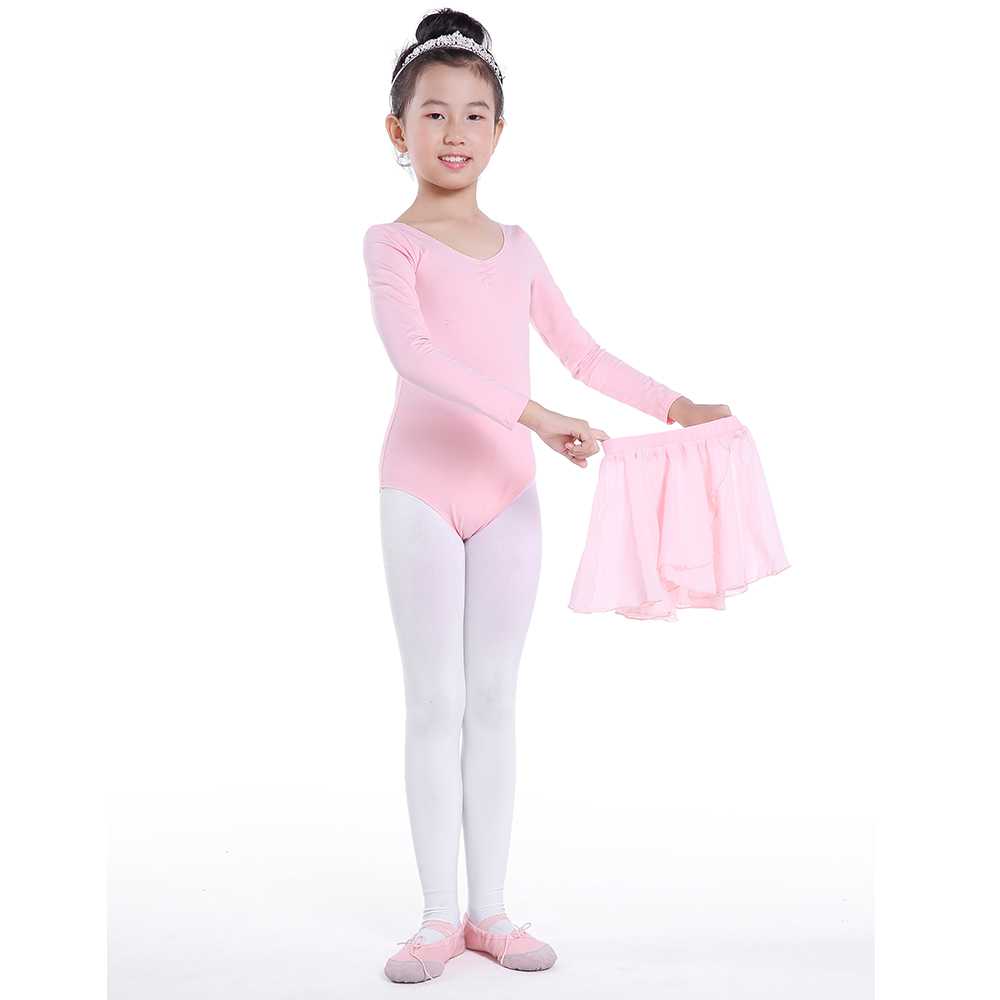 Girls Ballet Costume Tutu Leotard Dance Gymnastics Skate Dress Ballerina Skirt