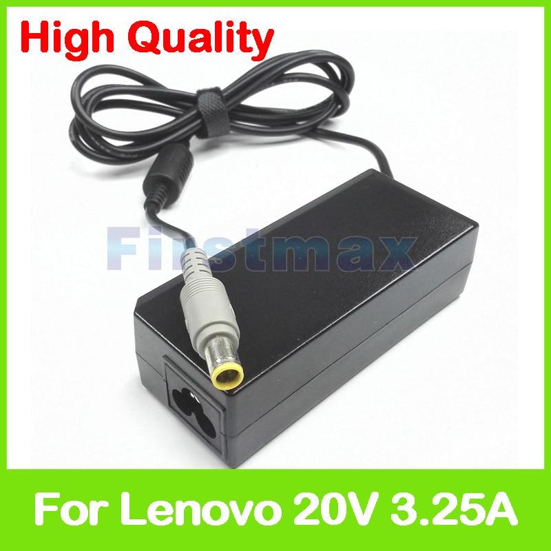 20 V 3.25A 45 W Laptop Ac adaptador de cargador para Lenovo ThinkPad X220 Tablet X220i X220s x220T X230 X230 Tablet x230i X230t