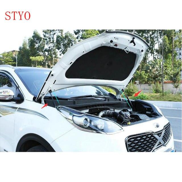 STYO For Kia Sportage QL 2016 2017 refit front hood Engine cover Hydraulic rod Strut spring shock Bar 1