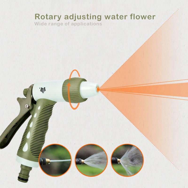 4pcs set High pressure Car wash water gun for garden watering irrigation tool Adjustable mode nozzle water jet Garden Supplies in Garden Water Guns from Home Garden