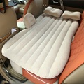 Car Air Mattress Travel Bed Car Back Seat Cover Inflatable Mattress Air Bed Good Quality Inflatable Car Bed (beige and black)