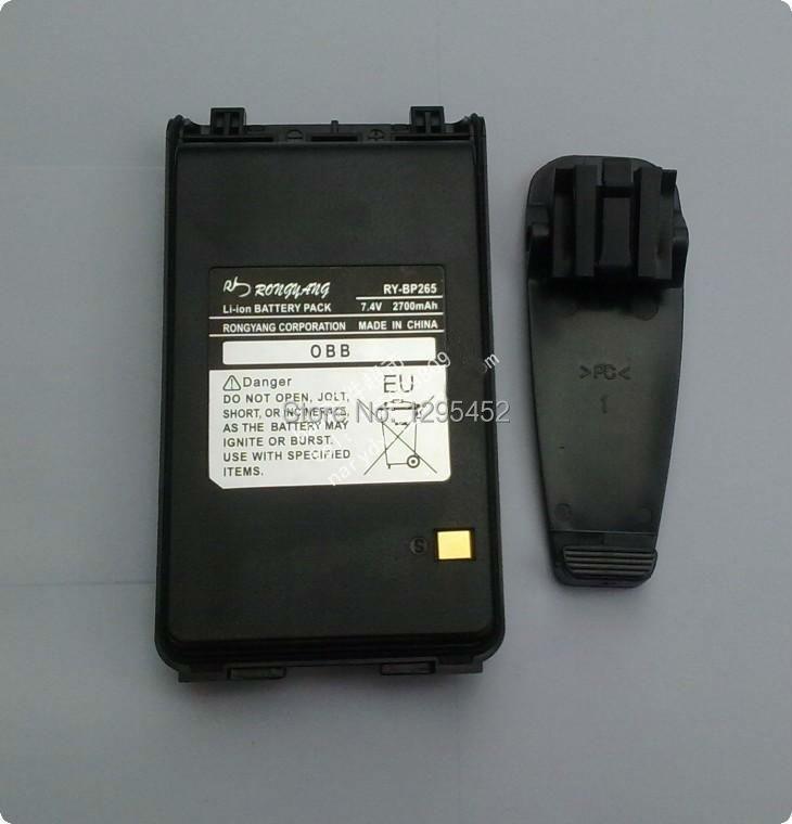 BP-265 7.4V 2700mAh Li-ion Battery Pack BP265 for IC-V80ET70F300130023003F4001 walkie talkie Batarya
