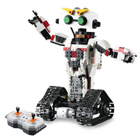 2 Style Remote Control Robot Building Blocks Creative Robot Blocks Educational Toys Bricks Compatible with Legoed
