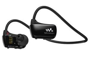 Image 2 - Verwendet, original Sony NWZ W273S 4 GB Wasserdichte Alle in One MP3 Player Schwarz kopf montiert player 4 GB