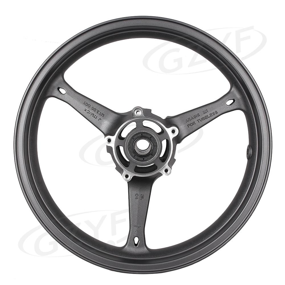 Matte Front Alloy Wheel Rim For Suzuki 2006 2007 GSXR 600 750 K6 & 2005-2008 GXS-R 1000 K5 K7, Motorcycle Accessories black rear pillion seat cowl cover for 2006 2007 suzuki gsxr gsx r 600 750 k6