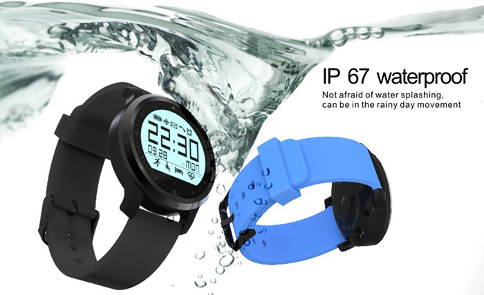 F68 Bluetooth 4.0 Sport Smart Watch Heart Rate Track Wristwatch 1.5 Inch Touch Screen Waterproof IP67 Watch For IOS Android (8)