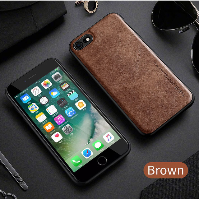 X-Level Leather Case For iPhone SE 2 2020 8 7 6 6s Plus Funda Original Shockproof Back Phone Cover Coque For iPhone 6 6s 7 8 4