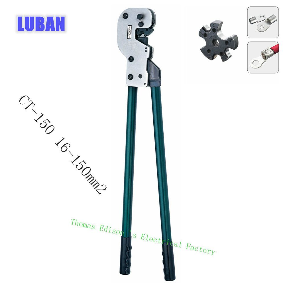 CT-150 COPPER TUBE TERMINAL CRIMPING TOOL terminals 16-150 mm2 CRIMPING PILER crimping tools big size