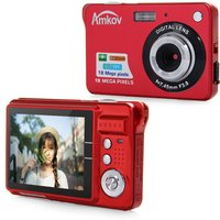 Amkov Ultra Thin AMK CDC3 Digital Camera 5 Megapixel Mini HD Shooting Camera Portable Mulch Language