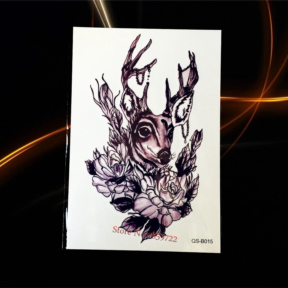 1pcs 3D Large metallic temporary tattoo stickers H3D-08 flash taty paste Maple Leaf Green Orange Butterfly Freee Shipping
