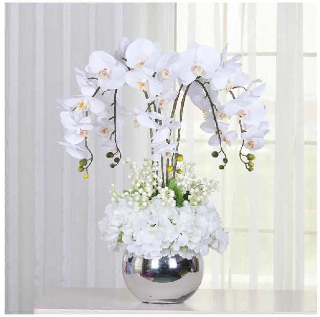 promo o de arranjos de flor branca disconto promocional em alibaba group. Black Bedroom Furniture Sets. Home Design Ideas