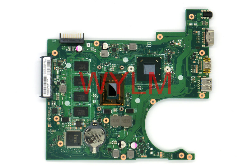 NEW Original X200CA motherboard mainboard MAIN BOARD REV 2.1 60NB02X0-MBJ000-212 with SR109 1007U 100% Tested Working original main lc37as28 rev 35010539 00 used disassemble