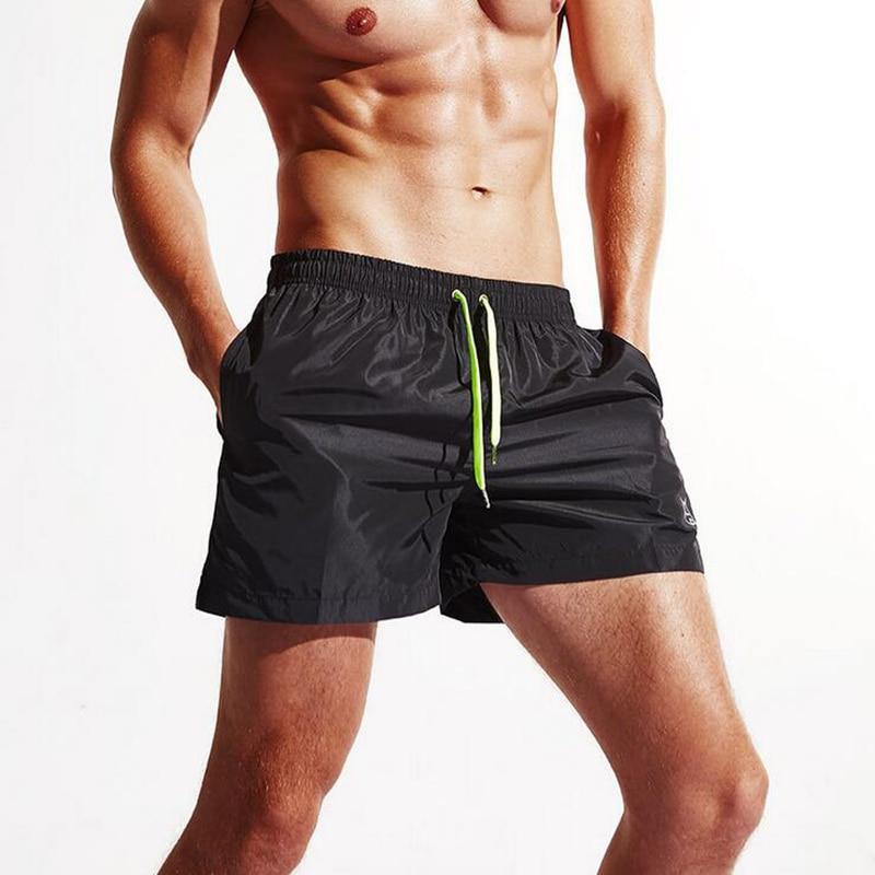 KWAN.Z men's board shorts one-third beach shorts Slim calzoncillos brand men's beach shorts Bathing hombre trunks shorts men