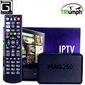 EE.UU. de América IPTV caja STi7105 + Triunfo Mag250 IPTV 1000 + Canadá Albanés Holandés Portugal Serbia Nordic España Turquía Francés tv de pago