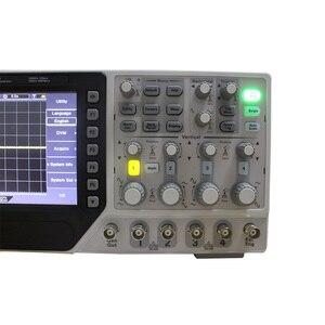 Image 2 - Hantek DSO4204C הדיגיטלי אוסצילוסקופ 200 mhz 4 ערוצים USB נייד מחשב LCD Osciloscopio רכב + שלוחה + DVM + אוטומטי טווח פונקציה