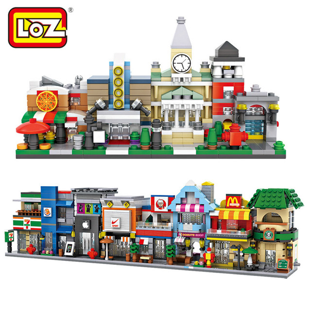 Aliexpress.com : Buy Loz Mini Street Retail Store Shop