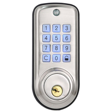 Promotion! Cheap Smart Home Digital Door Lock, Waterproof Intelligent Keyless Password Pin Code Door Lock Electronic Deadbolt