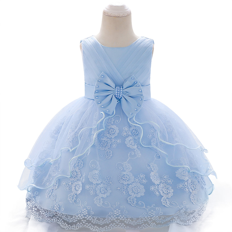 2020 New Lace Baby Girl Dress 9M-24M 1 Years Baby Girls Birthday Dresses Vestido birthday party princess dress
