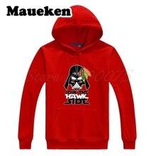 Uomo Chicago Maglie Blackhawks Darth Vader di Star Wars Unire Il Lato Falco Felpe  Con Cappuccio 11c307508260