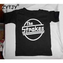 Детская футболка с принтом штрихов рубашка для мальчиков и девочек детская одежда для малышей Забавные футболки Z-53