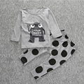Baby Boy Clothes Casual Baby Girl Clothing Cartoon Pattern High Quality Infant Suit T Shirt + Pants Clothing Sets Infant Outfits