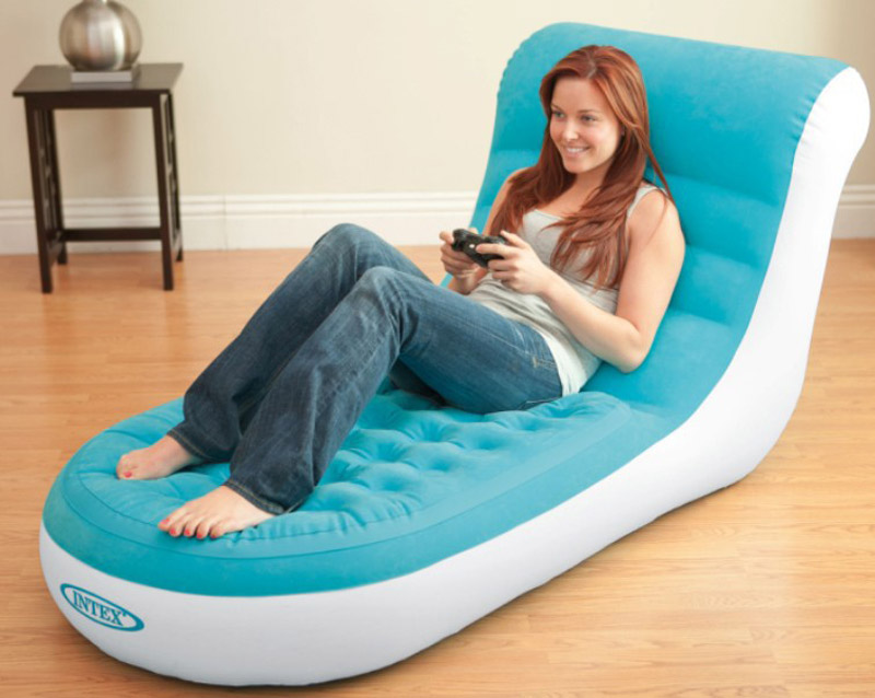 Outstanding Intex 68880 Lounge Chair Sofa L Shape Inflatable Sofa 107 Ocoug Best Dining Table And Chair Ideas Images Ocougorg