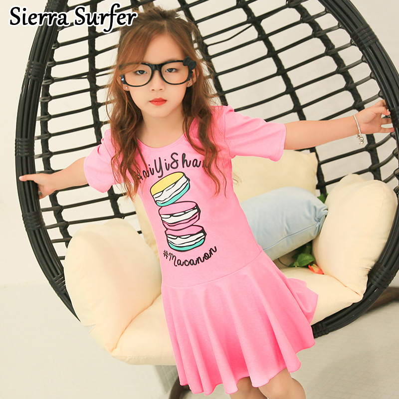 Kids Swimwear For Girls Bathing Suit Junior Swimsuit Suits 2018 New Children Long Sleeve Skirt Girl Maillot De Bain Enfant Fille