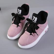 2018 Autumn Wedges Platform Sneakers Pink Women Casual Shoes Tenis Feminino Ladies Shoes Pu Leather Women Sneakers Basket Femme